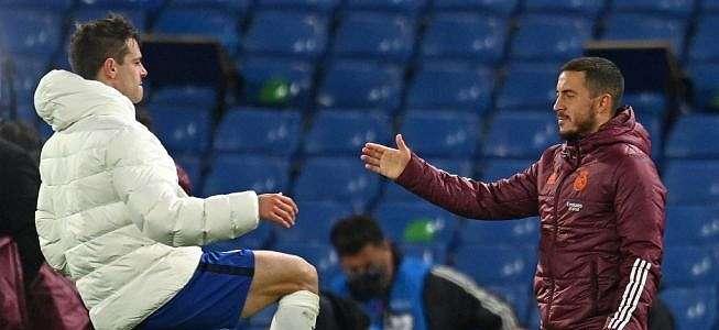 Cengengesan Usai Madrid Tersingkir dari UCL, Eden Hazard Minta Maaf