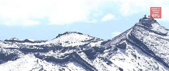 Tahun Ini, Salju di Gunung Fuji Muncul 25 Hari Lebih Cepat