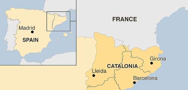Makar, para pemimpin Catalunya divonis penjara oleh pengadilan Spanyol