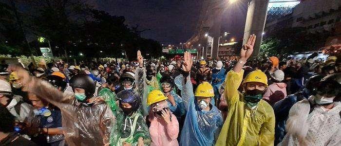 Polisi di Thailand Selidiki Media atas Liputan Aksi Protes