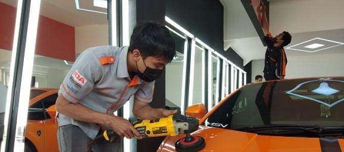 Mark Auto Detailing Buka Dealer di Bursa Otomotif Sunter