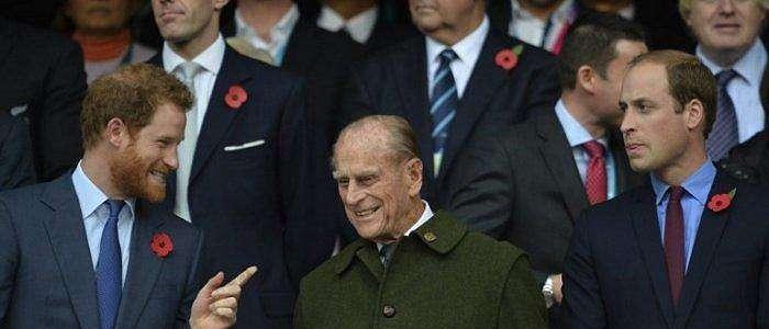 Harry dan William Beri Penghormatan Terpisah atas Meninggalnya Sang Kakek, Pangeran Philip