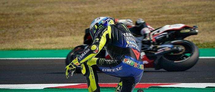 Sedih Lihat Kondisi Valentino Rossi, Carlo Penat: Pak Tua, Sudahlah. . . .