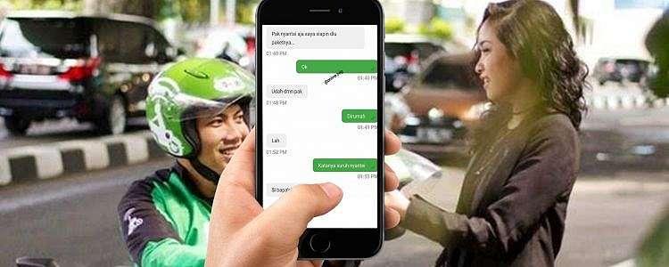 10 Chat lucu driver ojek online nurutin kata pelanggan, kocak