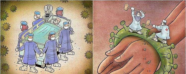 10 Ilustrasi perjuangan paramedis tangani corona ini bikin salut