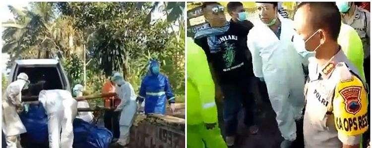 Viral, paramedis dilempari batu saat bawa jenazah pasien corona