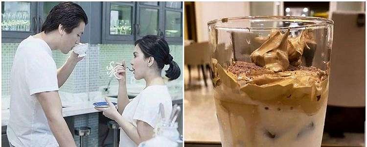 Momen 5 seleb bikin dalgona coffee yang viral, penuh perjuangan