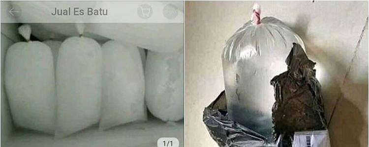 10 Cuitan lucu es batu dijual online ini bikin ketawa jengkel