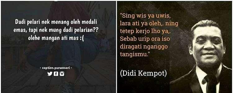 60 Kata-kata kecewa bahasa Jawa, singkat tapi dalam