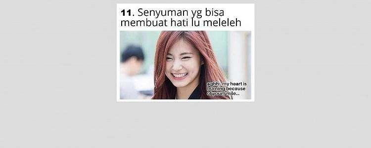 11 Meme 'tipe-tipe senyum' ini lucunya bikin cengar-cengir