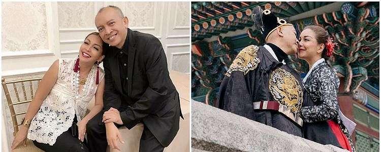 29 Tahun menikah, ini 10 momen mesra Soraya Haque & Ekki Soekarno