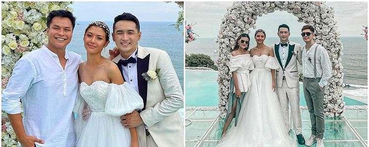 8 Momen pernikahan Gerald Yohanes 'Anak Langit' & Mezty Mez