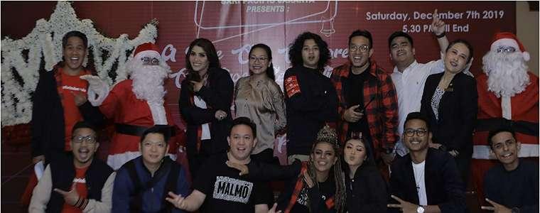 Musisi Rohani Maleena Ajak Jebolan Indonesian Idol dan Bastian Steel Rayakan Natal.