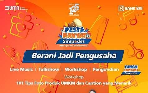 Special Performance D'Masiv & Geisha, Pesta Rakyat Simpedes Episode 5 Ajak Berani Jadi Pengusaha.