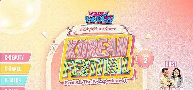 Bakal Meriahkan Hari Pertama, Yuk Seru-seruan Bareng Dizkorea di Kapanlagi Korean Festival Vol.2.