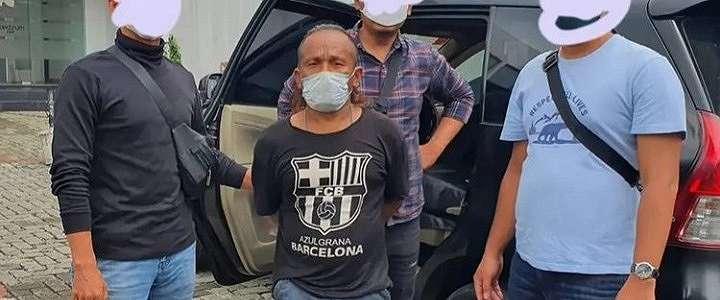 Aksi Pemerasan Viral, Pria Berbaju Hitam Ini Diciduk Polisi, Ada yang Kenal?