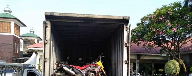 Viral, Ada Puluhan Motor Curian di Rumah Kontrakan Ini, Kombes Aloysius: Kelompok Lampung