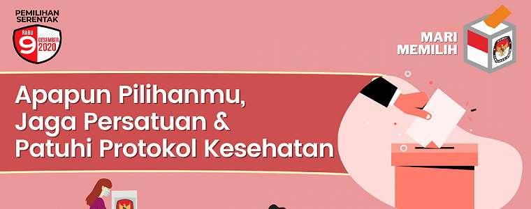 Dekan Fisip Unas Ajak Warga Sukseskan Pilkada 2020 dengan Datang ke TPS