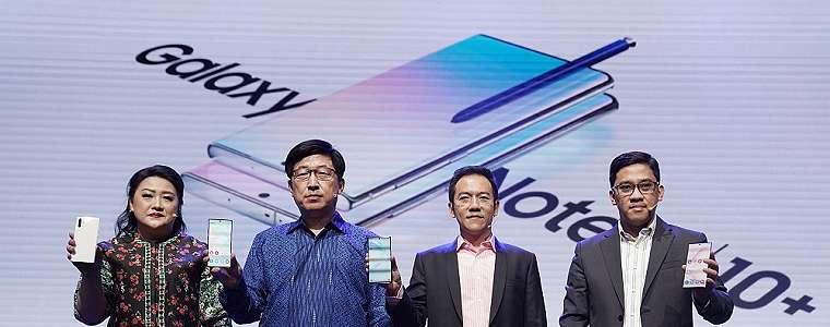 Samsung Resmikan Kehadiran Galaxy Note10 dan Note10+ di Indonesia