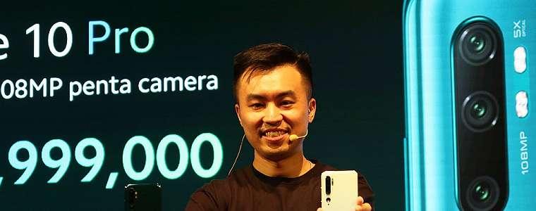 Resmi Meluncur di Indonesia, Xiaomi Mi Note 10 Pro Dijual dengan Harga 7 Juta Rupiah