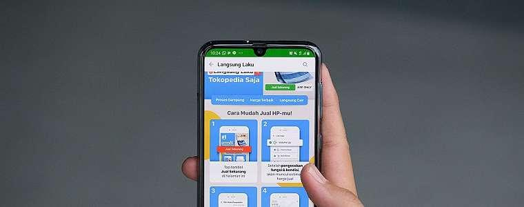 Tokopedia Langsung Laku: Tawarkan Kemudahan Menjual Smartphone Lama Secara Cepat