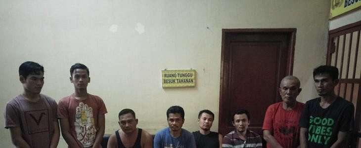 Foto Kawanan Perampok di Langkat, Empat Pelaku Terpaksa Didor Polisi