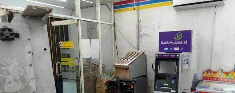 Uang Ratusan Juta di ATM Lenyap, Lihat Kondisi TKP, Berantakan Banget