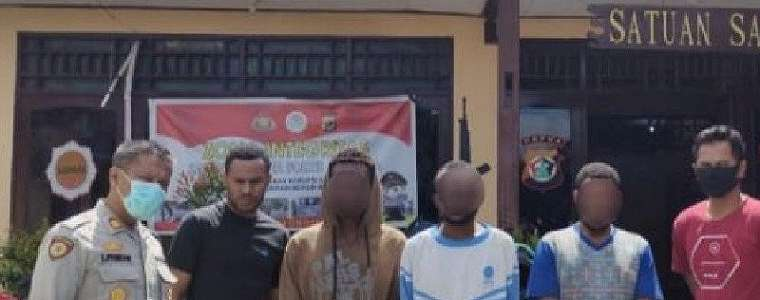 VY, AM dan PP Ditangkap oleh Tim Elang yang Dipimpin Bripka Derajat