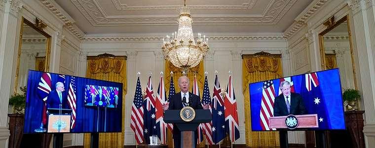 AS, Inggris, dan Australia Umumkan Aliansi Pertahanan Indo-Pasifik Baru