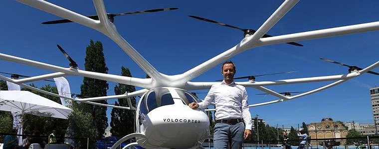 Miliarder China Investasi USD55 Juta untuk Taksi Terbang