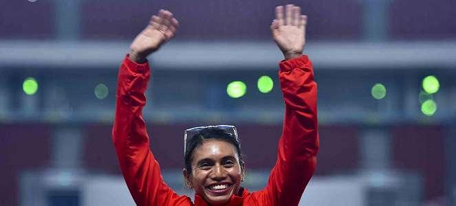 Ratu Lompat Jauh Indonesia Maria Londa Mengenang Bob Hasan