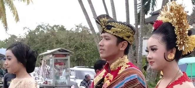 Atraksi Seni Lombok Warnai Kedatangan Kirab Pemuda 2018