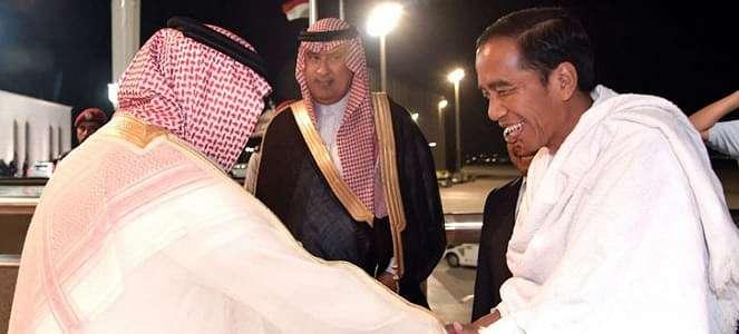 Saat Umrah, Raja Salman Izinkan Jokowi Masuk Ka'bah