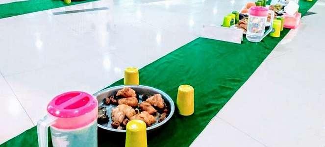 Gelar 'Green Ifthar', Burj Al Bakrie Terapkan Konsep Eco Masjid