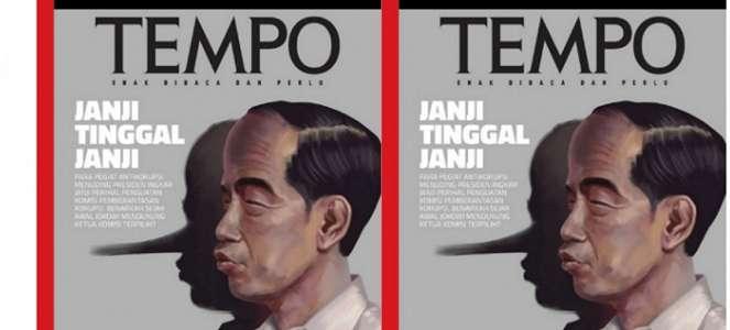 Gambar Jokowi Ini yang Bikin Tempo Dilaporkan Relawan Jokowi