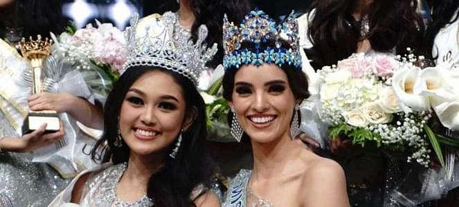 Doa Ibu Terwujud, Princess Mikaela Raih Mahkota Miss Indonesia 2019