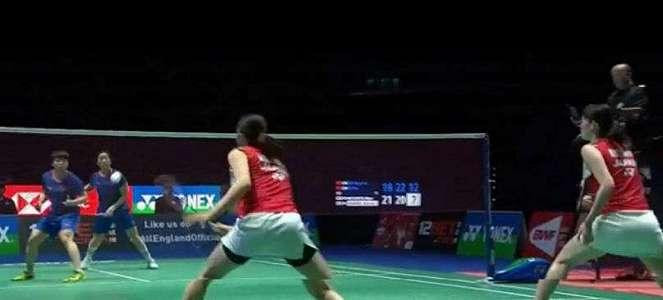 Luar Biasa, Chen/Jia Tumbangkan Juara Dunia di Final All England