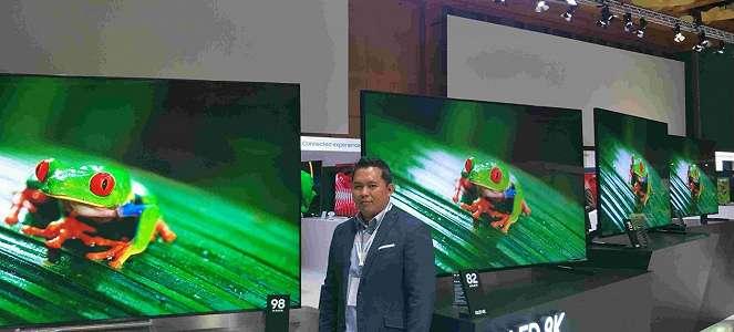 Intip Keunggulan TV QLED 8K Samsung, Harganya Rp1,5 Miliar