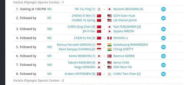 Semifinal Fuzhou China Open Live TVRI, Kevin/Marcus Jadi Tumpuan RI