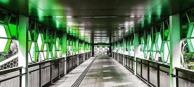 Stasiun MRT Estetik di Singapura Untuk Foto OOTD