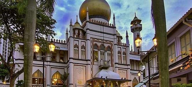 Masjid-Masjid Keren di Singapura