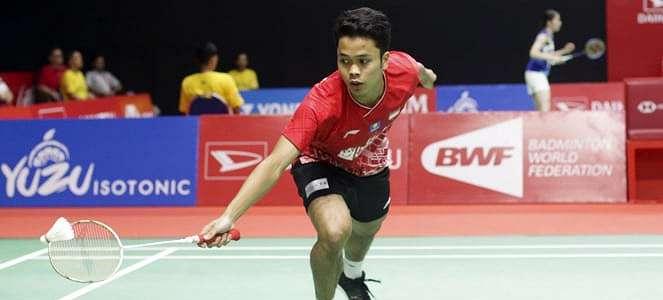 Anthony Ginting Bongkar Kunci Lolosnya ke Semifinal Indonesia Masters