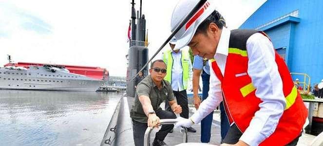 Spesifikasi Kehebatan KRI Kapal Selam Alugoro yang Dipuji Jokowi