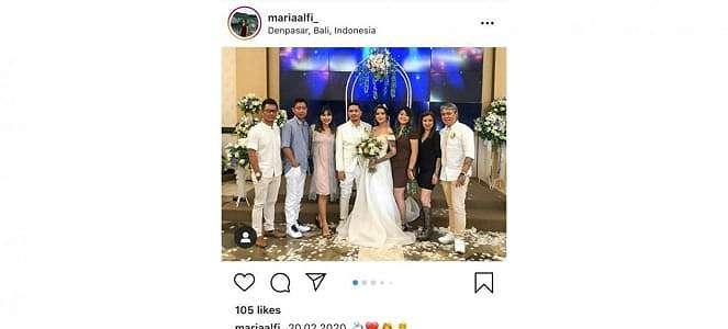 Sheila Marcia Menikah dengan Seorang DJ di Bali