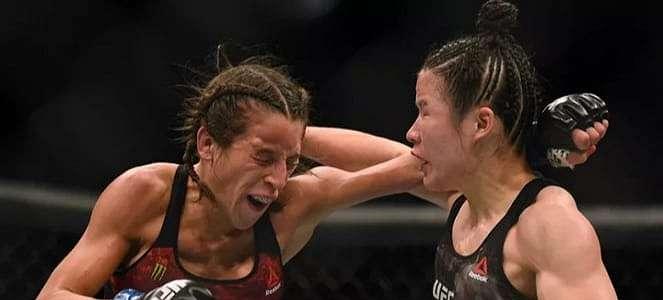 Intip Gaya Joanna Jedrzejczyk Usai Dihabisi Ratu Pukulan Maut UFC