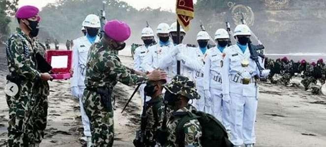 Ini Amanat Komandan Marinir TNI AL untuk 345 Prajurit Baru