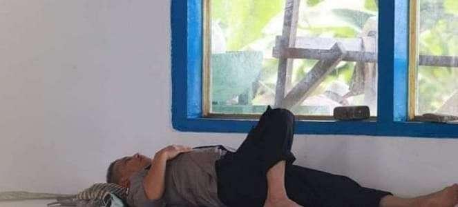 Irjen Baharudin Djafar Viral Gegara Foto Tiduran di Masjid
