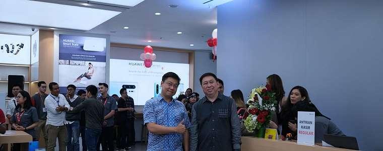Huawei Resmikan High-End Experience Shop Pertamanya di Indonesia