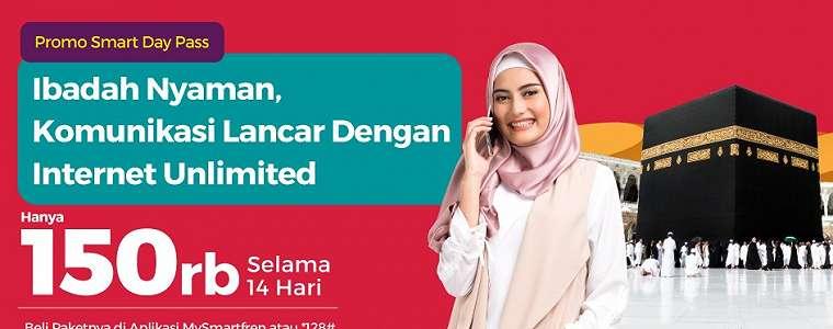 Smartfren Hadirkan Promo Internet Unlimited untuk Jemaah Haji