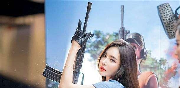 Han Ga Eun Beautiful Pose At G-Star 2018